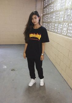 (notitle) - about girls - Tomboy Fashion, Teen Fashion Outfits, Retro Outfits, Cute Casual Outfits, Grunge Outfits, Stylish Outfits, Girl Fashion, Vans Fashion, Teenage Outfits