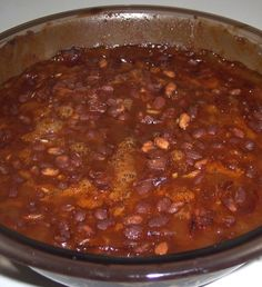 Spicy Baked Beans | Recipe | Baked Beans, Baked Bean Recipes and Beans ...