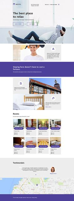Youth & Travelers Hostel #website #template. #themes #business #responsive…