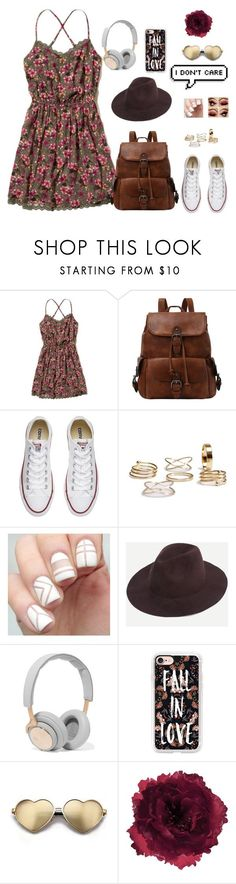 """""""And he will raise you up on eagles wings"""" by lovelywonderstruck13 ❤ liked on Polyvore featuring Hollister Co., Converse, B&O Play, Casetify, Wildfox, Accessorize and vintage"""