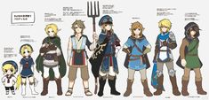 The Legend Of Zelda: Links