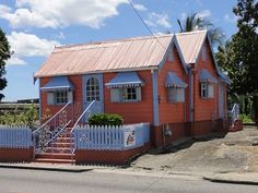 """""""Chattel House"""" is Barbadian slang for a small wooden house that working class people would occupy."""