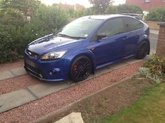 2009 FORD FOCUS RS BLUE COLLINS 340 - http://www.fordrscarsforsale.com/603