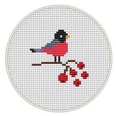 Bird cross stitch pattern Counted cross stitch por MagicCrossStitch
