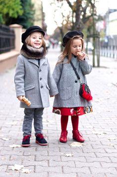 Red and grey   Vivi & Oli-Baby Fashion Life