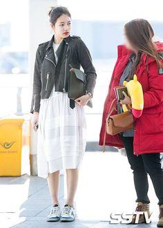 Suzy @ Incheon Airport & London Airport