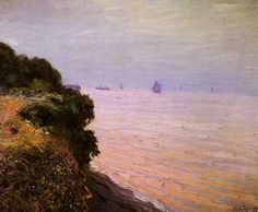 Langland Bay, England, Morning 1897. Alfred Sisley (1839-1899) Alfred Sisley was an Impressionist landscape painter who was born and spent most of his life in France, but retained British citizenship. He was the most consistent of the Impressionists in his dedication to painting landscape en plein air.
