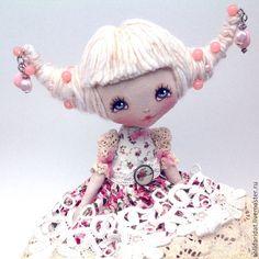Купить Варенье из роз - кремовый, солнышко, кукла купить, кукла в подарок, кукла ручной работы