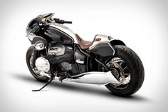 Custom builders have used BMW's R nineT as the foundation for some of the most creative builds in the two-wheeled world. With the introduction of... Custom Bmw, Custom Bikes, Dragster, Metal Shaping, Custom Builders, Bmw S, Cruiser Motorcycle, Motorcycle Helmets, Motorcycle Design