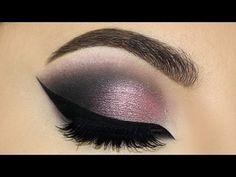 ⭐Dramatic Plum Smokey Eyes & Cat Eyeliner MakeUp Tutorial   Melissa Samways ⭐ - YouTube