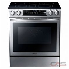 Slide-In Electric Range with Self-Cleaning Dual Convection Oven in Stainless – The Home Depot Samsung cu. Slide-In Electric Range with Self-Cleaning Dual Convection Four A Convection, Convection Cooking, Home Depot, Samsung, Cubes, Double Oven Electric Range, Double Ovens, Electric Cooktop, Ranger