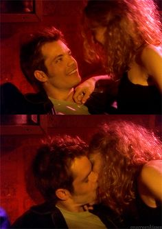 Sex and the City - with Tim Olyphant.... Such a perfect kisser he is