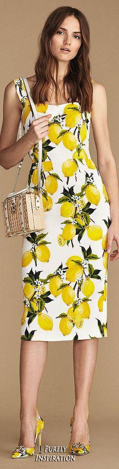 Dolce&Gabbana SS2016 Women's Fashion RTW | Purely Inspiration