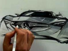 Mercedes concept skeren