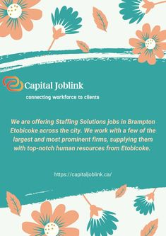 Capital Joblink is an employment agency hiring jobs in Etobicoke provides a terrific approach to incorporate new employees in an employee manual, financial goods, authentic job confirmation, and more. Identifying which jobs in your business will benefit the most from this strategic approach is the initial step in creating a talent pipeline. Job Website, New Employee, Jobs Hiring, Human Resources, Confirmation, Benefit, Manual, Business, Textbook