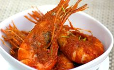 Indonesian Style Curry Prawns