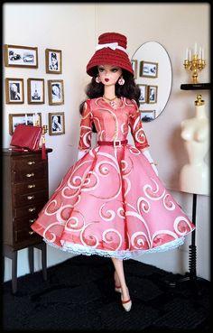 "OOAK Fashions for Silkstone / 12"" Fashion Royalty / Vintage barbie/ Poppy parker #LoveFashion"