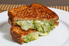 Asparagus Pesto Grilled Cheese Sandwich