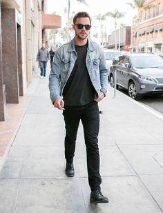 Nicholas Hoult Out in LA January 2016 | POPSUGAR Celebrity