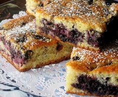 Blueberry Cake – European Recipe
