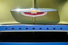 1950 Chevrolet Fleetline Grille Emblem - Car Images by Jill Reger