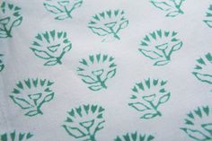 Cotton Napkins - Linen Table Napkins - Hand Block Printed from Attiser