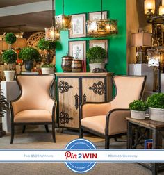 Pin2Win one of two $500 Uttermost Shopping Sprees! Discover all the Uttermost options & savings! #BellacorGiveaways