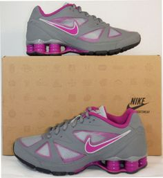 the latest a3903 19d56 NIB NIKE Women GREY PINK Sz 11 SHOX SHE MONSTER Running Shoe 487864 006 NEW  115
