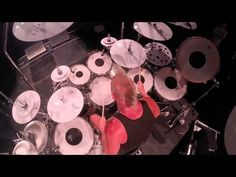 Mike Terrana Drum Solo - Frankfurt Music Fair 2015 - YouTube