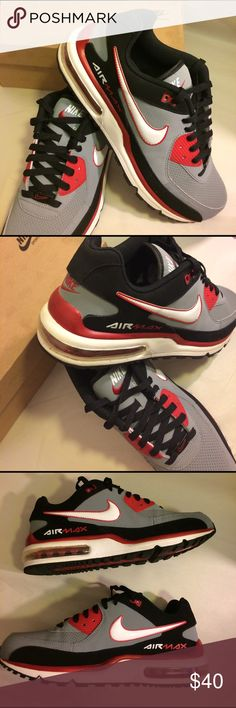 bbeac206ebb9 Nike Air Max Wright A preloved pair of Nike Air Max Wright in Stealth Grey