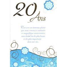 Message Anniversaire 20 Ans Original Anniversaire