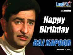 A great tribute to #Showman of #Bollywood on his #birth anniversary. Happy Birthday #RajKapoor !!  #LeadNXT #HappyBirthdayRajkapoor