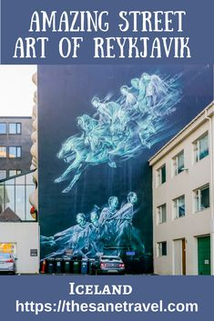 Do you know that tiny Reykjavik in Iceland is number 9 of the list of the most instagrammed  cities for the street art in the World? Here are some incredible samples for your attention. #streetart #travel  #reykjavik #iceland #travelblog #travelphotography #mural