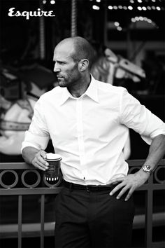 Jason Statham in Esquire, June 2015. Photo by Nigel Parry (via esquire.com).