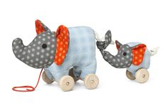 Noma Elephant Pull Toy – Franck & Fischer, fun toddler toy