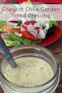 Eat copycat recipes on pinterest for Copycat olive garden salad dressing