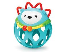 hedgehog roll-around rattle at skip*hop | baby shower gift guide