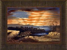 Heavenly Blessing By Todd Thunstedt 17.5x23.5 Patriotic US American Flag Sky Framed Art Print Wall Décor Picture ThunderMark Art and Graphics http://www.amazon.com/dp/B00KCTNRVS/ref=cm_sw_r_pi_dp_S02lwb10TM75Y