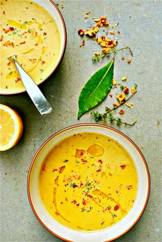 zucchini and walnut thyme soup