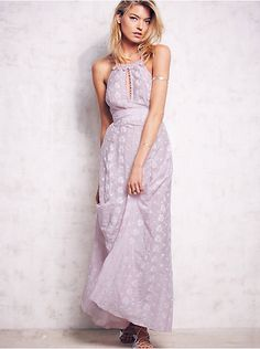 Free People Starflower Embroidered Maxi, $350.00