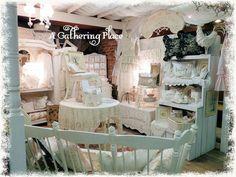 furniture craft booth displays   Romantic Shabby booth display...   Craft/furniture Booth