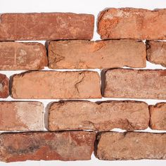 You just cant fake the real deal. http://www.VintageBricks.com #1 supplier of reclaimed thin brick tiles