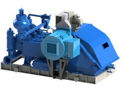 Электродвигатели для привода трансмиссионного вала бурового насоса AFDP