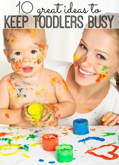 If you have a toddler, you know keeping his or her attention on an activity can be tough. Well, we've found 10 great ideas to keep your toddler busy for (at least) 10 minutes!