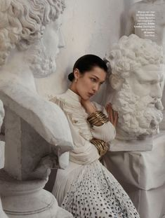 """Bella Hadid poses in """"From her to eternity"""", played by Txema Yeste for Vogue Gre … – 2020 Spring Fashion Models Vogue Editorial, Editorial Fashion, Vogue Photography, Editorial Photography, Portrait Photography, Photography Tips, Advertising Photography, Iphone Photography, Light Photography"""
