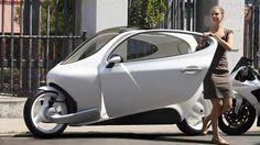 C-1, coche electrico de dos ruedas, de Lit Motors