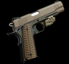 Absolutely beautiful Kimber I would love to get one with the grip laser sights! Home Defense, Self Defense, Rifles, Colt M1911, Kimber 1911, 1911 Pistol, Fire Powers, Firearms, Shotguns