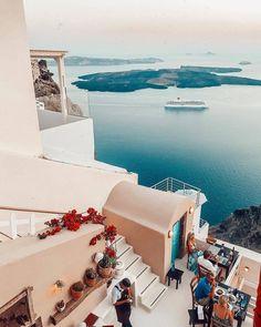 my vibe :) in 2019 adventure travel, future travel, travel dest Greece Vacation, Greece Travel, Vacation Trips, Dream Vacations, Vacation Travel, Shopping Travel, Beach Travel, Budget Travel, Santorini