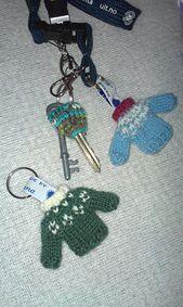 Ravelry: Mini Marius nøkkelring / Keychain pattern by Helene Lyngmyr