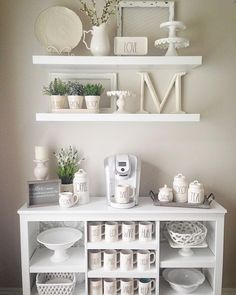 Amazing DIY Rae Dunn Display Ideas and Pictures 60 ...Read More...